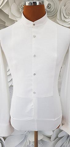 Camicia frack B-stretch bianca
