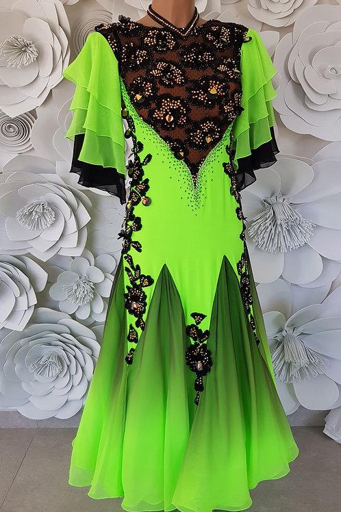 Ballroom Green Fluo Black
