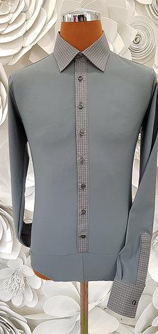 Camicia B-Stretch grigia