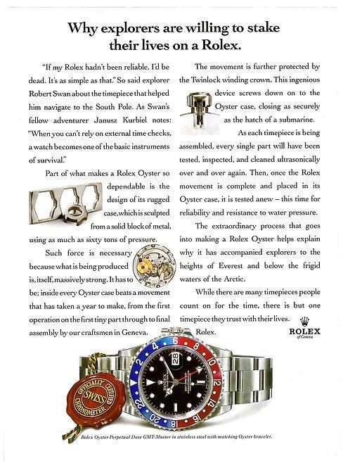 1993 Rolex GMT-Master Ad