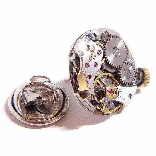 Alpina Watch Movement Lapel Tack Pin