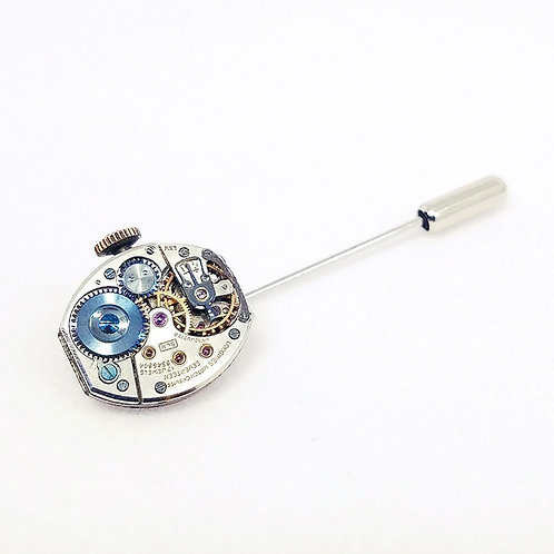 Longines Watch Movement Lapel Pin