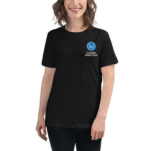 """""""Good With Our Hands"""" Women's Back Graphic CWC Dark Shirt"""