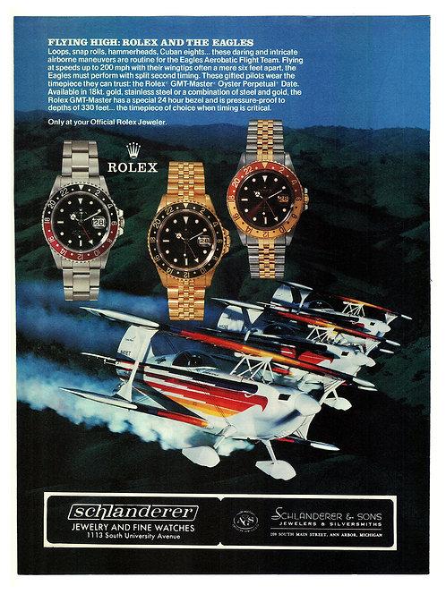 1988 Rolex GMT-Master Ad