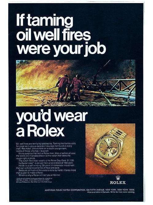 1969 Rolex Day-Date Ad