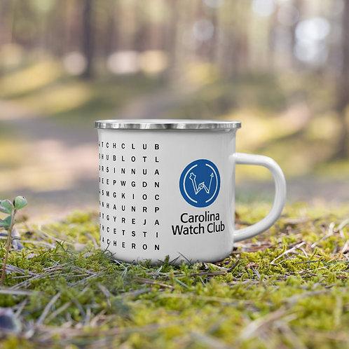 Carolina Watch Club Watch Brand Word Search Ceramic Mug Nature