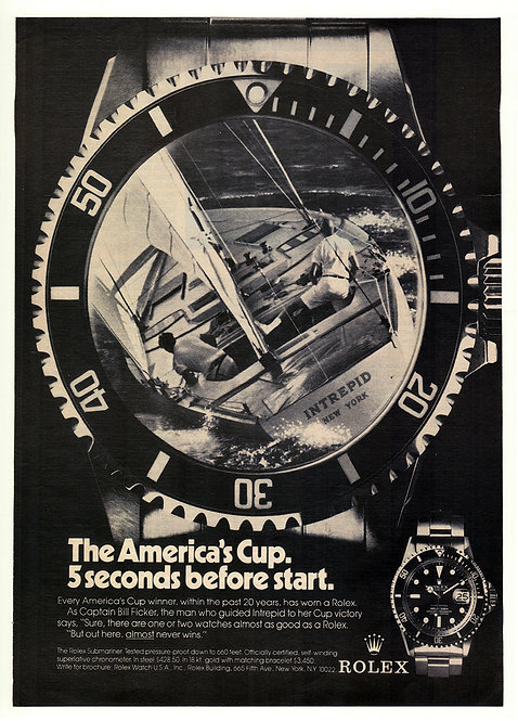 1974 Rolex Submariner Ad