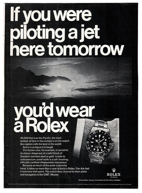 1968 Rolex GMT-Master Ad