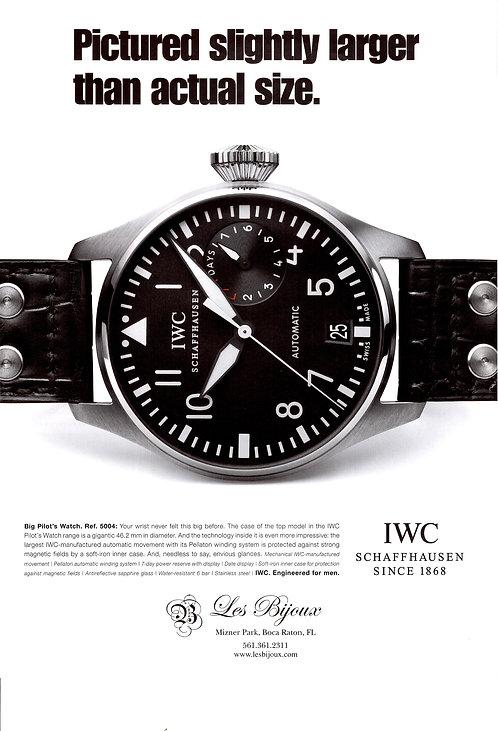IWC Big Pilot Watch Advertisement