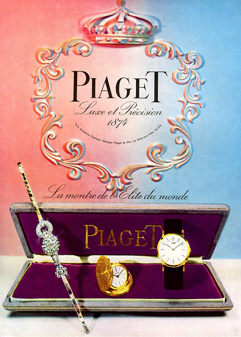 1957 Piaget French Ad