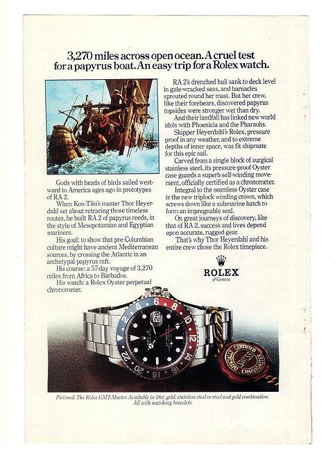 1977 Rolex GMT-Master Ad