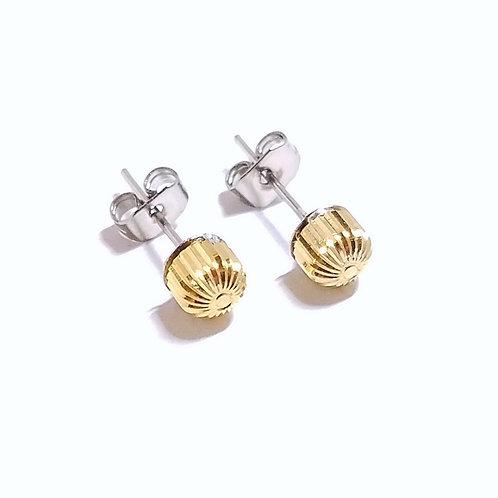 Watch Crown Stud Earrings
