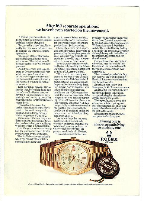 1972 Rolex Day-Date Ads