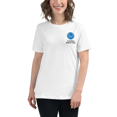 """Good With Our Hands"" Women's Back Graphic CWC Light Shirt"