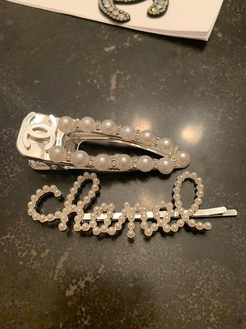 Hair clip set