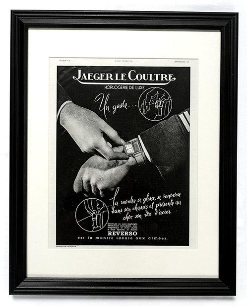 Jaeger LeCoultre Reverso Wrist Watch