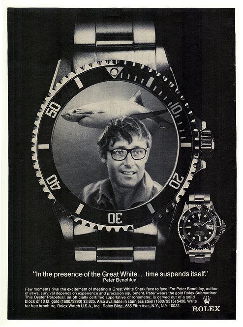 1975 Rolex Submariner Ad