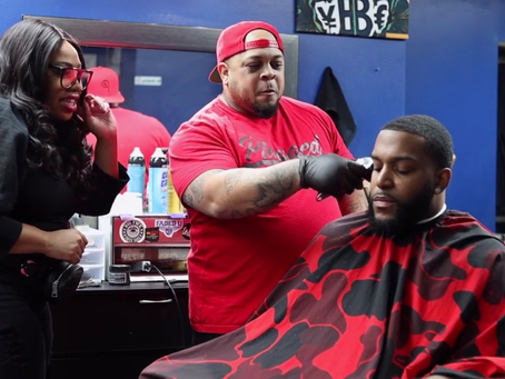 Glambot Lifestyle Invades the Barbershop