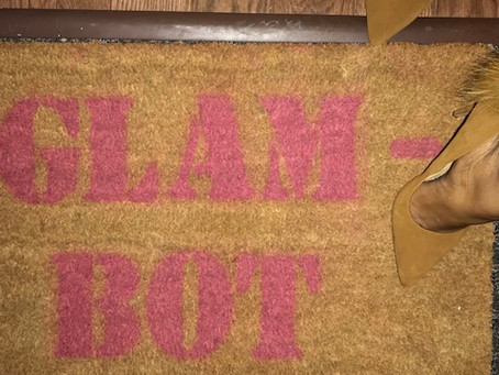 Steppin' into 2K18: #GIY GLAM DOORMAT