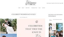 Celebrity Weddings In Italy