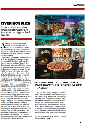 Civerinos Slice Review