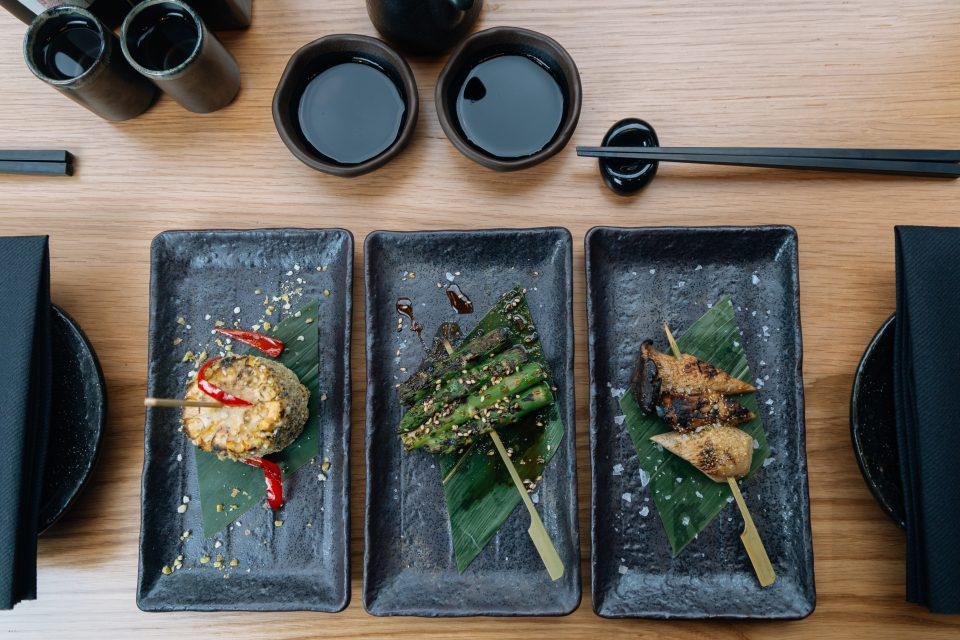 The Robatayaki Restaurant We're Ravi