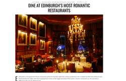 Edinburgh's Romantic Restaurants