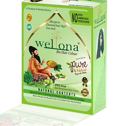 Wellona Bio Hair Color (150 gm)