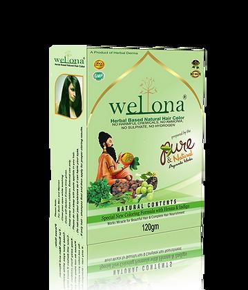 Wellona Herbal Based Natural Hair Color (150 gm)