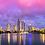 Hota and the Gold Coast Photo | Night Skyline | Canvas