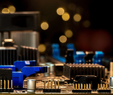 motherboard macro photoshoot