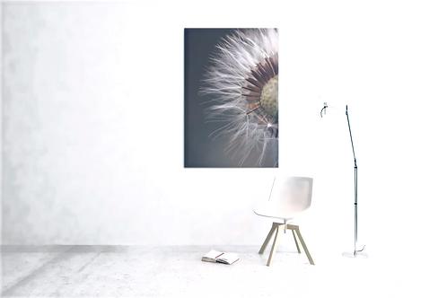 Floatie Flower Photo | Close Up Shot | Canvas