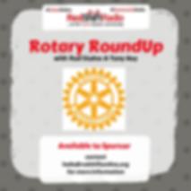 Rotary RoundUp on RedShift Radio
