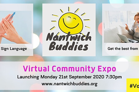 Our Virtual Volunteer Expo goes live in 2hours!