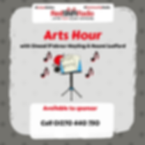 Arts Hour on RedShift Radio