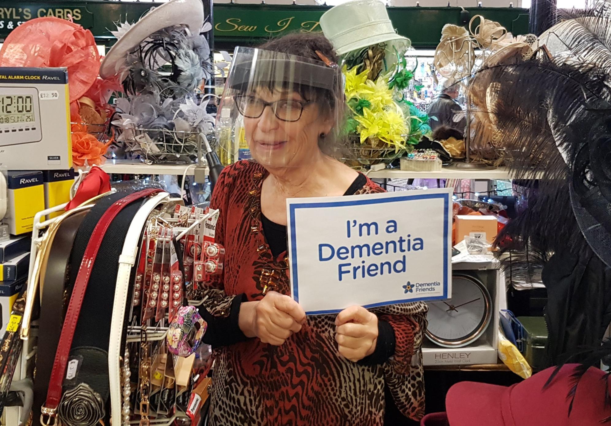 Nantwich Market becoming Dementia Friendly