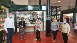 Dr Kieran Mullan MP visits Market