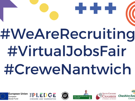 Chancellor Rishi Sunak MP set to open Crewe & Nantwich Jobs Fair