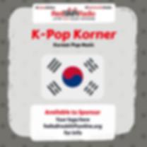 K-Pop Korner on RedShift Radio