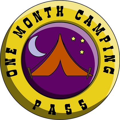 One Month Camping Pass