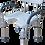Thumbnail: Banqueta para Banho com Alças Laterais e Abertura Frontal - 100kgs