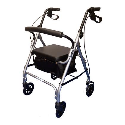 Andador 4 Rodas - Flex - 100 kgs