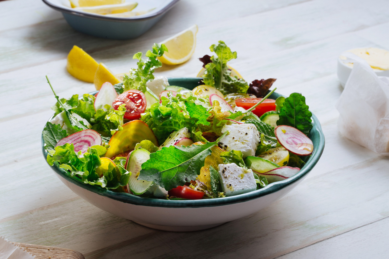 Fresh Green Salad with Hemp