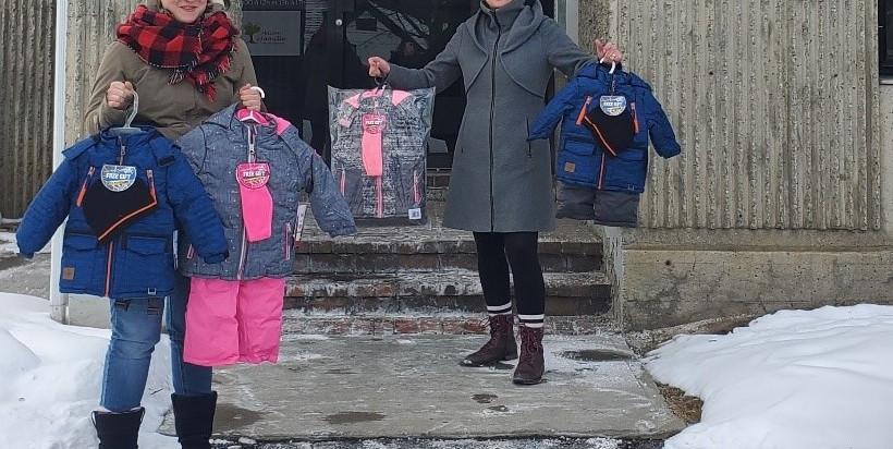 La Maison de la famille aide plus de 100 enfants cet hiver en temps de pandémie !