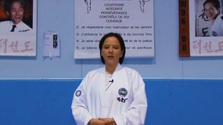Christina Fontaine Entraîneur de taekwondo