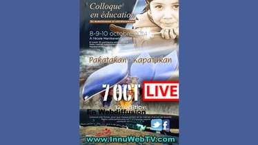 (LIVE) Colloque en éducation 7 oct 2014