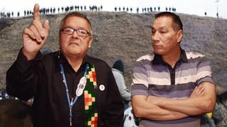 Jean Charles & Réal Standing Rock