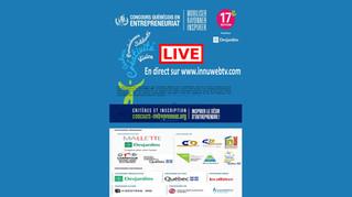 Concours québécois en entrepreneuriat 2015, 17ième edition