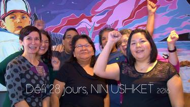 """Vidéo Publicitaire """" Nin Ushket 2016"""" (défi 28 jours)"""