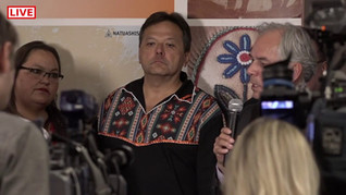 Traité symbolique des autochtones contre les pipelines